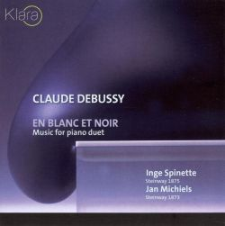 Jan Michiels / Inge Spinette - Claude Debussy: En Blanc et Noir - Music for Piano Duet