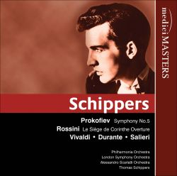 Schippers conducts Prokofiev, Rossini, Vivaldi and others
