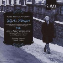 Mozart: Concerto for Viola and Orchestra; String Quintet in A major