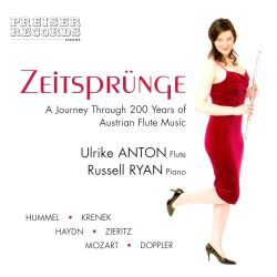 Ulrike Anton - Zeitsprünge: A Journey Through 200 Years of Austrian Flute Music