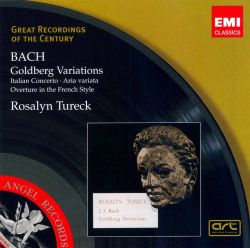 Bach: Goldberg Variations; Italian Concerto; Aria variata; Overture in the French Style