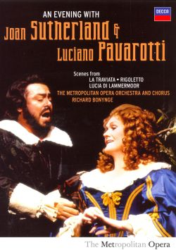 Richard Bonynge - An Evening with Joan Sutherland and Luciano Pavarotti [DVD Video]