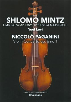 Shlomo Mintz - Paganini: Violin Concerto [DVD Video]