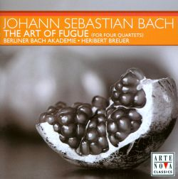 Bach: The Art of Fugue (Arrangement for 4 Quartets)