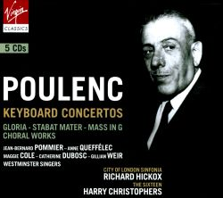 Richard Hickox - Poulenc: Keyboard Concertos