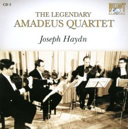 The Legendary Amadeus Quartet, CD 3: Joseph Haydn