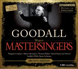 Richard Wagner: The Mastersingers of Nuremberg [Archive Edition]