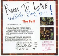 room to live the fall room to live undilutable slang the fall songs 21112