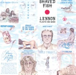 John lennon shaved fish album