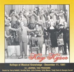 Kollege of Musical Knowledge December 11, 1941