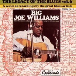 Big Joe Williams - Legacy of the Blues, Vol. 6