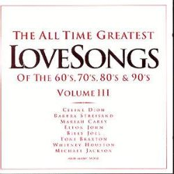all time greatest love songs vol 3 various artists songs reviews credits awards allmusic. Black Bedroom Furniture Sets. Home Design Ideas