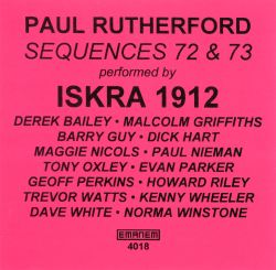 Paul Rutherford - Sequences 72 & 73