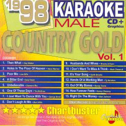 Karaoke - Chartbuster Karaoke: 1998 Male Country Gold, Vol. 1