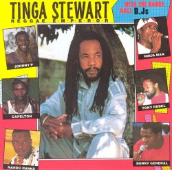 Tinga Stewart with the Dance Hall DJ's