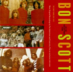 Bon Scott - Early Years 1967-1972