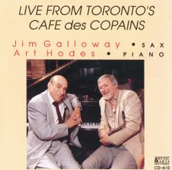 Live from Toronto's Cafe Des Copains