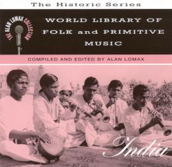 World Library of Folk and Primitive Music, Vol. 7: India