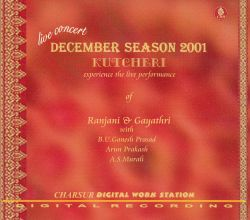 Ranjani & Gayatri - December Season 2001
