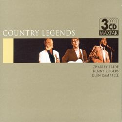 Country Legends: Charley Pride, Kenny Rogers, Glen Campbell