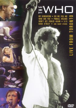Live from Toronto [DVD] - The Who