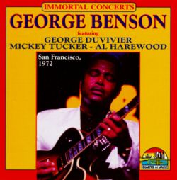 George Benson - San Francisco: 1972