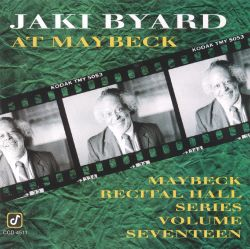 Live at Maybeck Recital Hall, Vol. 17