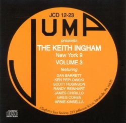 Keith Ingham New York 9, Vol. 3