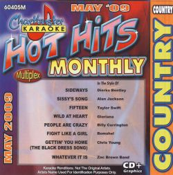 Karaoke - Karaoke: Hot Hits Country - May 2009