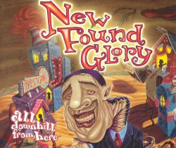 New Found Glory - All Downhill from Here [CD Single]
