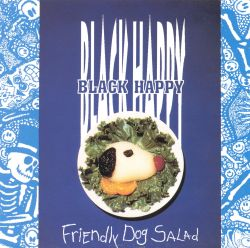 Black Happy - Friendly Dog Salad