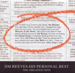 Jim Reeves - His Personal Best-The Greatest Hits