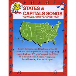 Kathy Troxel - States and Capitals Songs