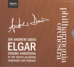 Andrew Davis - Elgar: Enigma Variations; In the South; Serenade for Strings