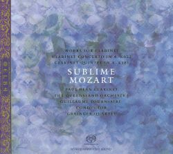 Sublime Mozart: Works for Clarinet