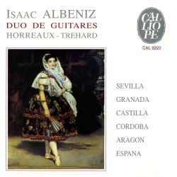 Duo Horreaux-Trehard - Isaac Albeniz: Duo de Guitares