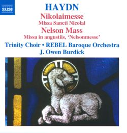 Owen Burdick / Rebel - Haydn: Nikolaimesse; Nelson Mass