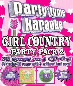 Karaoke - Party Tyme Karaoke: Girl Country Party Pack, Vol. 2