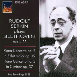 Rudolf Serkin Plays Beethoven, Vol. 2