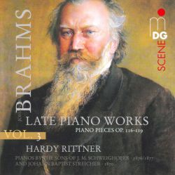 Hardy Rittner - Brahms, Vol. 3: Late Piano Works