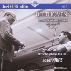 Beethoven: Concerto for Violin and Orchestra; Symphony No. 1; Coriolan