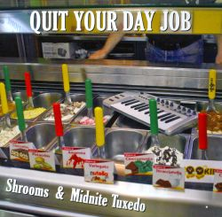 Midnite Tuxedo / Shrooms - Quit Your Day Job