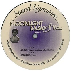 Theo Parrish - Moonlight Music and You