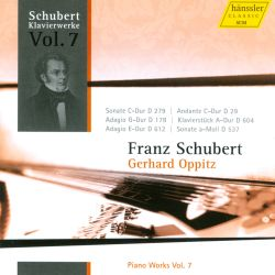 Gerhard Oppitz - Schubert: Piano Works, Vol. 7