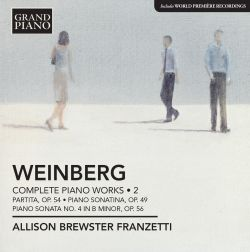 Mieczyslaw Weinberg: Complete Piano Works, Vol. 2