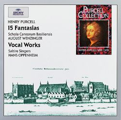 Purcell: 15 Fantasias & Vocal Works