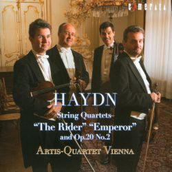"""Haydn: String Quartets """"The Rider"""", """"Emperor"""" and Op. 20 No. 2"""