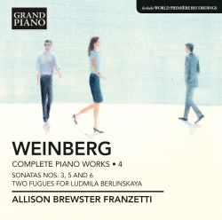 Mieczyslaw Weinberg: Complete Piano Works, Vol. 4