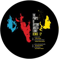 The Pimps of Joytime - Janxta Funk! Remix EP