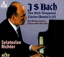 Sviatoslav Richter - Bach: The Well-Tempered Clavier (Books I & II)